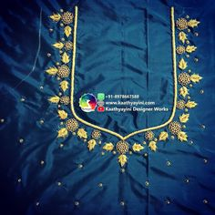 Simple Blouse Designs, Blouse Designs Silk, Bridal Blouse Designs, Blouse Patterns, Magam Work Designs, Zardosi Work, Zardozi Embroidery, Beaded Jewelry Patterns, Casual Work Outfits