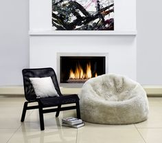 The perfect place for a sheepskin bean bag chair is ______________! (fill in the blank) https://myfibreshop.com/products/sheepskin-bean-bag