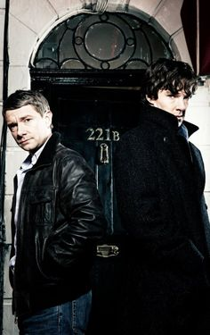 Mr. Holmes and Dr. Watson.