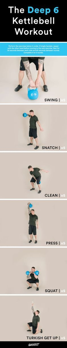 14 Cardio Exercises You Can Do With a Kettlebell That Aren't Just Swings #greatist https://greatist.com/fitness/kettlebell-exercises-cardio-moves-that-arent-just-swings
