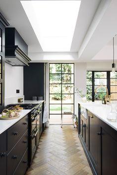 Wandsworth--DSC_0335-Edit Küchen Design, Home Design, Layout Design, Design Ideas, Devol Kitchens, Home Kitchens, Modern Kitchens, Black Kitchens, Open Plan Kitchen