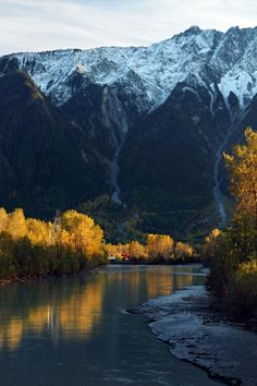 Mount Currie, Pemberton, British Columbia; photo by Pierr Leclerc