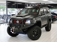 Dang! Turn my buddy into a Beast! 2010 Nissan Xterra Off Road