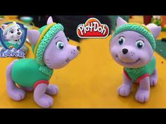 PlayDoh How To Make Everest - PAW Patrol Rescue Run - PAW Patrol Characters - YouTube Paw Patrol Rescue, Paw Patrol Cake, Paw Patrol Birthday, Paw Patrol Characters, 7th Birthday, Birthday Ideas, Fondant Tutorial, Play Doh, Cupcake Cakes