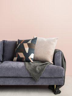Celine sofa in suede