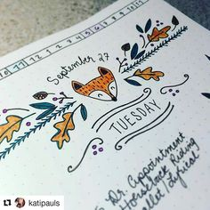 @katipauls creates lovely, charming headers to greet the day . ..Repost