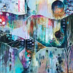 """Visit our internet site for additional relevant information on """"abstract art paintings acrylics"""". It is an exceptional location for more information. Flora Bowley, Process Art, Abstract Oil, Art Techniques, Painting Inspiration, Art Images, New Art, Cool Art, Illustration Art"""