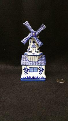 Delftblauw 61  Windmill Music Box  - Bosman Holland