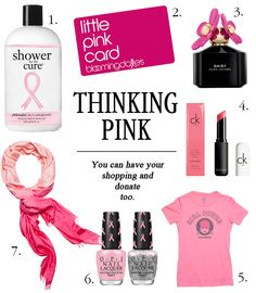 Pinktober! October shopping list: Pink Girl Power T-Shirt (#5) available online at Tomboy Vintage - think pink!