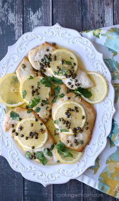 Classic Chicken Scaloppine is an elegant and simple meal to prepare any night of the week   cookingwithcurls.com