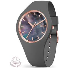 99€. Boitier rond silicone gris 40mm taille M, cadran nacre gris, bracelet silicone gris, étanche 100m Ice Watch, Bracelet Silicone, Pearl Grey, Smart Watch, Watches, Pearls, Fashion, Gray, Mother Of Pearls