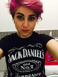 Crazy short pastel hair