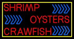 Oyster Neon Sign