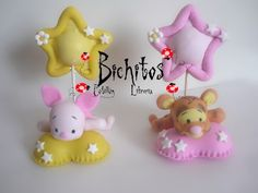 Souvenirs Nacimiento/ Bautismo Winnie Pooh En Porcelana Fría