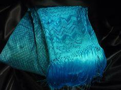 turquoise rebozo