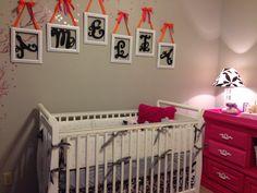 Gray & Pink Nursery