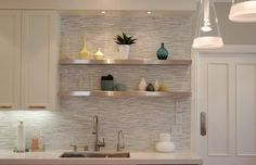 kitchen backsplash sleek modern Choosing a Kitchen Backsplash to Fit Your Design Style
