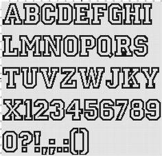 Knit ʚɞ stitch ʚɞ crochet: Cross stitch. Alphabet Cross Stitch Numbers, Cross Stitch Letters, Cross Stitch Borders, Cross Stitch Designs, Cross Stitching, Cross Stitch Embroidery, Cross Stitch Font, Embroidery Alphabet, Embroidery Patterns