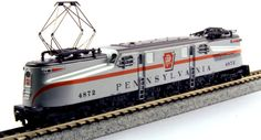 "Kato N Scale Pennsylvaina Railroad ""Congressional Silver"" at BLW."