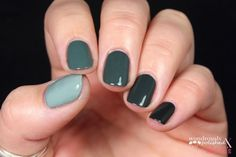 Mani Monday: Five Color Ombre Nail Tutorial using only 2 polishes