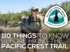 110 Things To Know Before Hiking The Pacific Crest Trail-- There are plenty of things to know before hiking the Pacific Crest Trail, but no matter how much PCT research you do, you still won't be prepared. Backpacking For Beginners, Backpacking Tips, Hiking Tips, Hiking Gear, Hiking Backpack, Travel Backpack, Travel Bags, Ultralight Backpacking, Backpacking Training