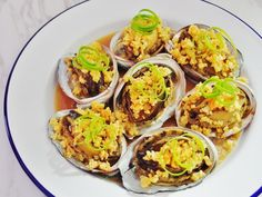 Steamed Abalone Recipe