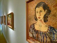 """No museu Frida Kahlo (www.museofridakahlo.org.mx), também conhecido como A Casa Azul, se concentram algumas das obras mais importantes da artista a exemplo do quadro """"O Retrato de Arija Muray"""", pintado por Frida nos anos 1930.  Fotografia: Marcel Vincenti / UOL."""