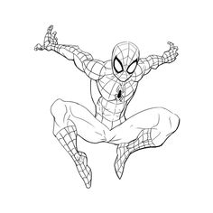 3 Ways to Draw Spiderman - Improveyourdrawings . Spiderman Sketches, Spiderman Kunst, Spiderman Drawing, Avengers Drawings, Drawing Superheroes, Avengers Art, Marvel Art, How To Draw Spiderman, Spiderman Tattoo