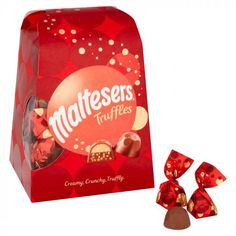 Maltesers Chocolate, Chocolate Lava Cake, Chocolate Filling, Chocolate Truffles, Lava Cake Recipes, Chocolate Gift Boxes, Morrisons, Aesthetic Food, Aesthetic Clothes