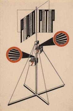 """Ausstellung """"Baumeister der Revolution. Sowjetische Kunst und Architektur 1915-1935. Mit Fotografien von Richard Pare"""" bis 9. Juli im Martin-Gropius-Bau am Potsdamer Platz in Berlin"""