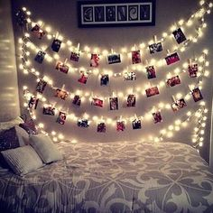 Details about LED Fairy Lights Card Photo Clip String Light Birthday Wedding Party Room Decor - All About Decoration Room Decor For Teen Girls, Teen Girl Rooms, Girl Bedrooms, Decoration Bedroom, Diy Home Decor Bedroom, Bedroom Ideas, Room Decoration For Birthday, Glam Bedroom, Teen Bedroom