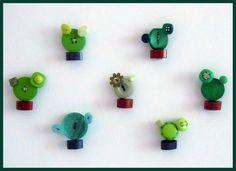 Cactus Boctonus - buttons