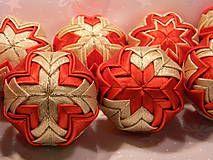 Vianoce - vianočné ozdoby 55 - 6cm - 4527991_