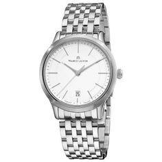 Maurice Lacroix Men's LC1117-SS002130 Les Classiqu Stainless Steel Silver Dial Watch Maurice Lacroix. $613.82. •Quartz movement•Stainless Steel Case•Silver Dial•Stainless Steel Bracelet•Water-resistant to 99 feet (30 M)
