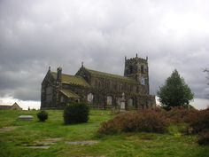 St Michaels And All Angels Church in Mottram England ( you can look it up ) its over a 1000 years old . It sets on War Hill in the town where we used to live.