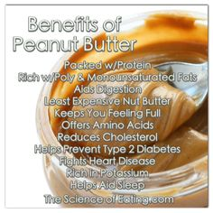 Peanut butter contains saturated fat and sodium, so how can it be considered a healthy food? Numerous studies have shown that people who regularly include nuts or peanut butter in their diets are less likely to develop heart disease or type 2 diabetes than those who rarely eat nuts, but that's not all check out all the benefits below!