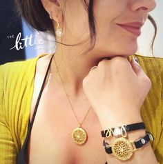Gold Sentiments lockets are perfect with every outfit!  www.charmingsusie.origamiowl.com