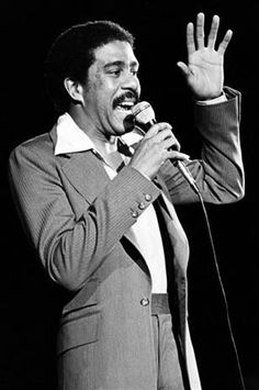 """Richard Pryor - """"I believe the ability to think is blessed. If you can think about a situation, you can deal with it. The big struggle is to keep your head clear enough to think. The Comedian, Comedian George, Comedian Videos, Funny Comedians, Stand Up Comedians, Richard Pryor, People Laughing, Stand Up Comedy, Entertainment"""