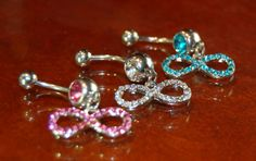 Infinity Diamond Stone Belly Ring Rhinestone Belly Button Ring Belly Piercing Pink Teal Blue Stones Naval Ring Dangling Belly Ring on Etsy, $5.99