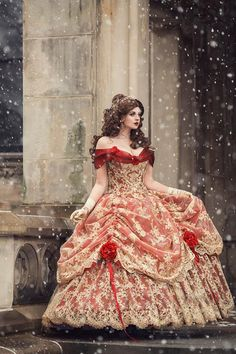 Wedding dresses victorian gown, disney cosplay, beauty and the beast we Beauty And Beast Wedding, Belle Beauty And The Beast, Beauty And The Beast Clothes, Beauty And The Beast Costumes, Country Wedding Dresses, Best Wedding Dresses, Disney Cosplay, Robes Disney, Victorian Gown