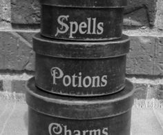 Wicca - Canisters For the Witch