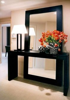 Interesting Hall Home Design Ideas. If you are looking for Hall Home Design Ideas, You come to the right place. Here are the Hall Home  Entryway Mirror, Entryway Decor, Entryway Ideas, Entrance Ideas, Entrance Halls, Mirror Bedroom, Wall Decor, Master Bedroom, Ikea Mirror Ideas