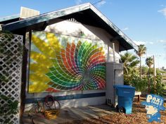 A mural on Grow House located in downtown Phoenix.