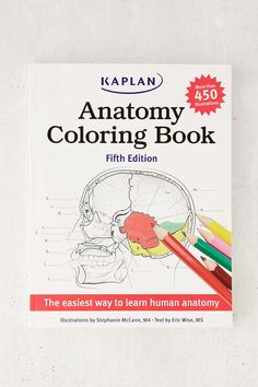 Human Anatomy And Physiology Coloring Workbook And Study