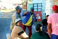 Locals of kayamandi