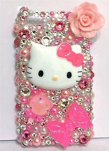 My hello Kitty Phone cover!!