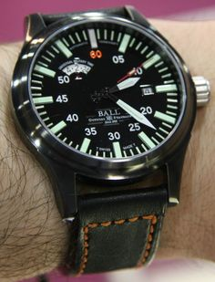 My Favorite Ball Watches At JCK, Big And Lots Of Lume
