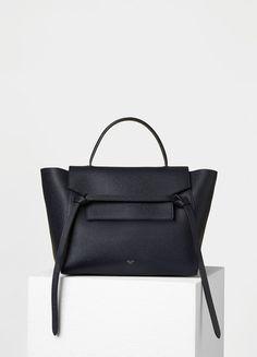 the best attitude 801fe 23a8f Mini Belt Handbag in Grained Calfskin - Céline