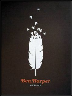 Ben Harper Lifeline Poster by Small Stakes.