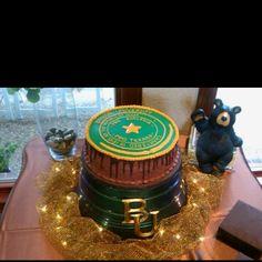 #Baylor Grooms Cake!